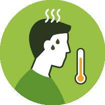 Febre acima de 37.8º
